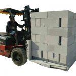 Hidraulikus targonca beton tégla / blokk emelő bilincs
