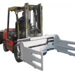 Fork Truck forgó bálabilincsek targoncával
