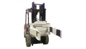 Hatékonyan hidraulikus targonca rögzítése forgó villás bilincs (2 pár villa)
