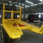 Hidraulikus targonca szemetes tartálykocsi