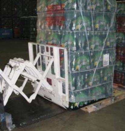 Targonca Pull Push Attachment használata italgyártásban